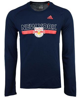adidas Men's New York Red Bulls 1949 Long Sleeve T-Shirt