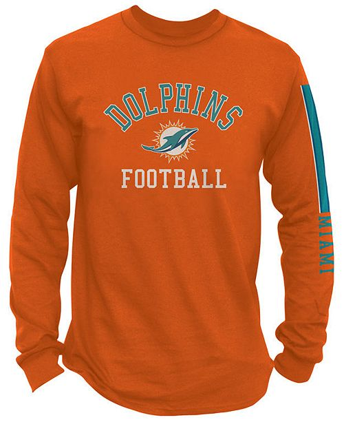 huge discount 5e66d 06e83 Authentic NFL Apparel Men's Miami Dolphins Spread Formation ...