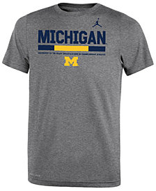 Nike Michigan Wolverines Uniform T-Shirt, Big Boys