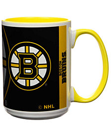 Boston Bruins 15oz Super Fan Inner Color Mug