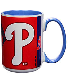 Philadelphia Phillies 15oz Super Fan Inner Color Mug