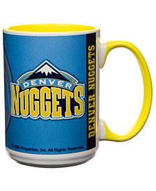 Denver Nuggets 15oz Super Fan Inner Color Mug