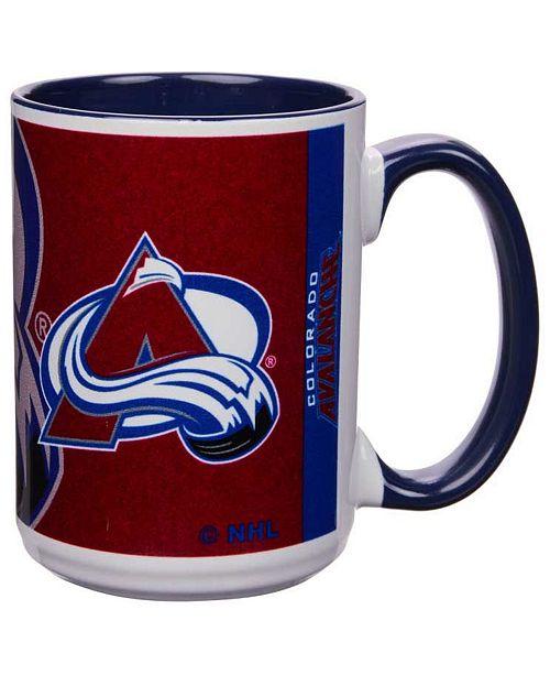 Memory Company Colorado Avalanche 15oz Super Fan Inner Color Mug