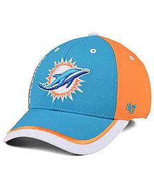 '47 Brand Miami Dolphins Crash Line Contender Flex Cap