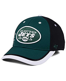 '47 Brand New York Jets Crash Line Contender Flex Cap