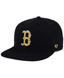 '47 Brand Boston Red Sox Chromega CAPTAIN Cap