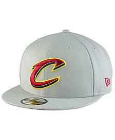 New Era Cleveland Cavaliers Gray Pop 9FIFTY Snapback Cap