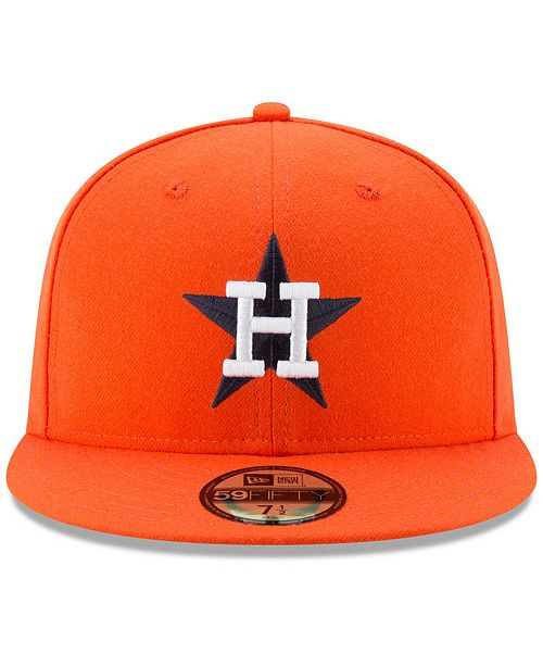 online store 2054b ff90d ... New Era Houston Astros Turn Back The Clock 59FIFTY Fitted Cap ...