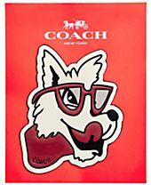 COACH Classic Wolf Sticker