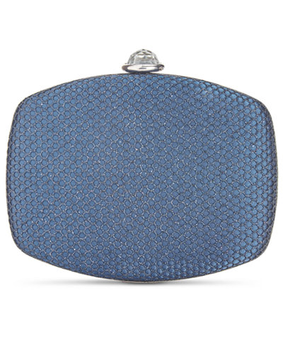 Adrianna Papell Vera Metallic-Net Mini Clutch