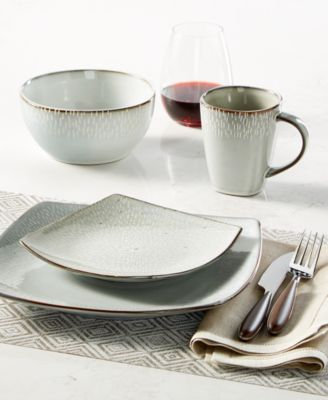 gibson elite matisse grey 16piece dinnerware set dinnerware dining u0026 macyu0027s
