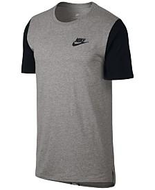 Nike Mens T-Shirt - Nike Banned Bars White L71r6084