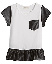 First Impressions Glam Flounce Tunic, Baby Girls, Created for Macy's