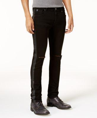 Buy tuxedo stripe skinny jeans