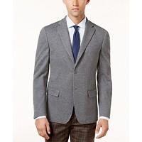 Calvin Klein Mens Slim-Fit Gray Knit Jacket Deals
