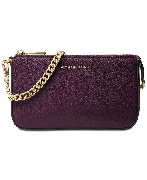 9757063c7d9b ... Michael Kors Medium Chain Clutch - Handbags Accessories ...