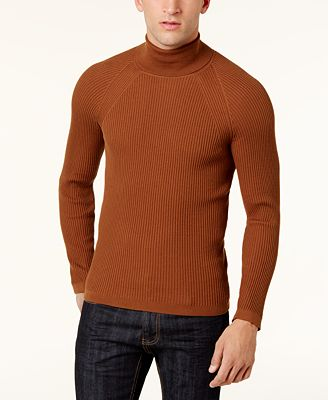 INC International Concepts Men's Ribbed Turtleneck Sweater ...