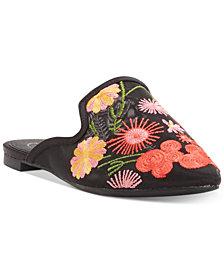 Jessica Simpson Zander Floral Mules
