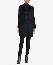 Lauren Ralph Lauren Petite Reefer Coat, Created for Macy's