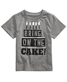 First Impressions Cake-Print T-Shirt, Baby Boys & Girls, Created for Macy's