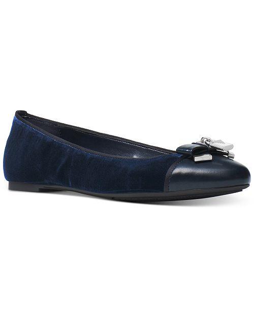 6aac6fc6012df Michael Kors Alice Ballet Flats   Reviews - Flats - Shoes - Macy s