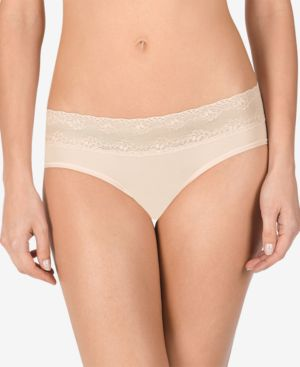 NATORI Bliss Perfection Maternity Bikini Briefs in Cameo Rose