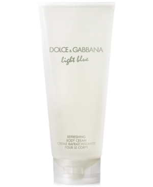 Dolce & Gabbana Light Blue Refreshing Body Cream, 6.7 oz
