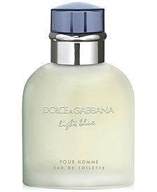 DOLCE&GABBANA Men's Light Blue Pour Homme Eau de Toilette Spray, 2.5 oz.