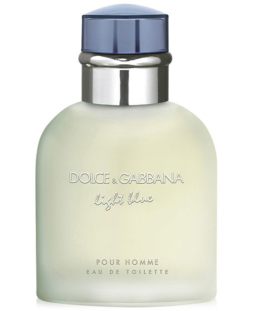 Dolce & Gabbana DOLCE&GABBANA Men's Light Blue Pour Homme Eau de Toilette Spray, 2.5 oz.