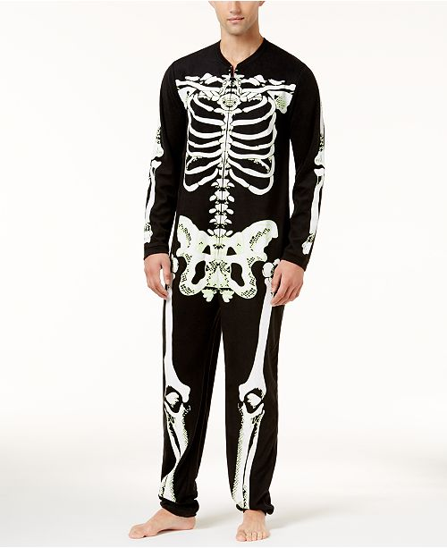 eaf921e0a8 Bioworld Men s Skeleton Union Suit   Reviews - Pajamas