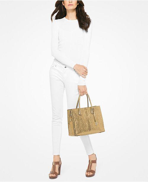 565bf17e9948 Michael Kors Mercer Large Convertible Tote   Reviews - Handbags ...