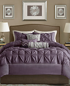 Madison Park Laurel 6-Pc. King/California King Duvet Cover Set
