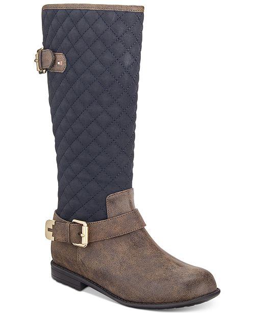 d490e90012b ... Tommy Hilfiger Andrea Equestrian Boots