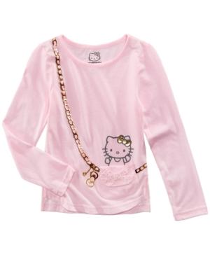 Hello Kitty Purse TShirt Little Girls (46X)