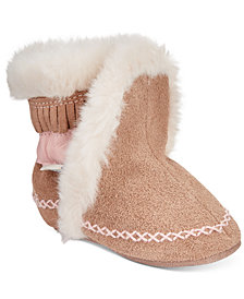 Robeez Baby Fab Folk Booties, Baby Girls
