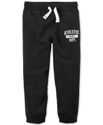 Image of Carter's Athletic Graphic-Print Sweatpants, Toddler Boys (2T-5T)