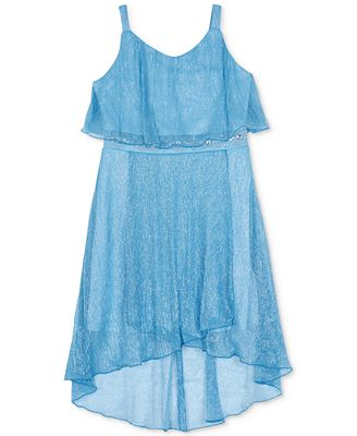 BCX Popover Dress, Big Girls