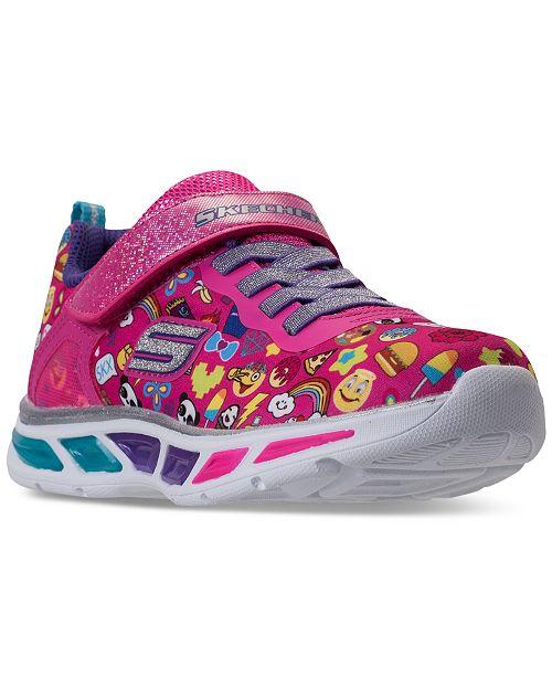 1753bdf84af5 ... Skechers Little Girls  S Lights  Litebeams - Feelin It Light-Up  Athletic Sneakers ...