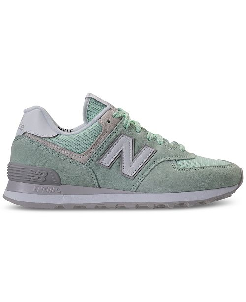 size 40 ea239 5bb22 ... New Balance Women s 574 Casual Sneakers from Finish ...