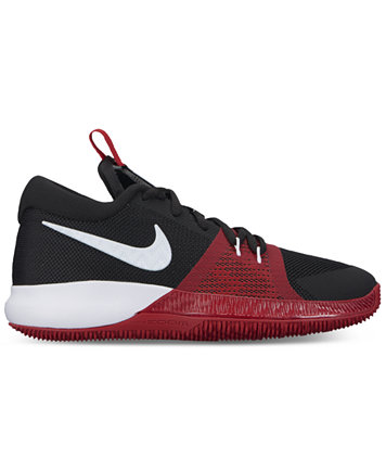 Image 2 of Nike Big Boys' Assersion Basketball Sneakers from Finish Line