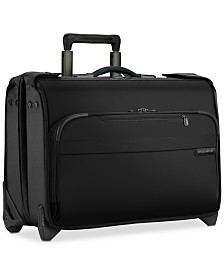 Carry-On Wheeled Garment Bag, 2 Wheels