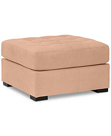 Roxanne II Performance Fabric Ottoman - Custom Colors, Created for Macy's