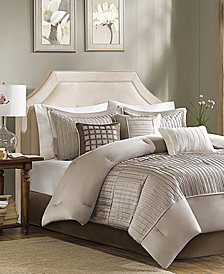Madison Park Trinity Charmeuse 7-Pc. King Comforter Set