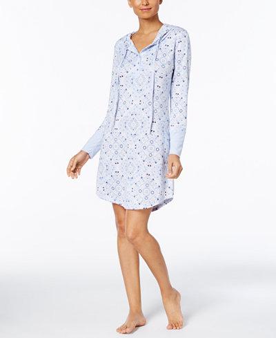 Ande Bandana Hooded Sleepshirt