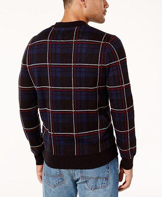 Mens Cotton Linen Textured Baseball Jacket Cardigan Tommy Hilfiger