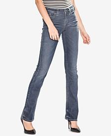Slim Bootcut Jeans