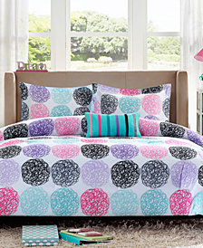 Mi Zone Carly 4-Pc. Full/Queen Reversible Comforter Set