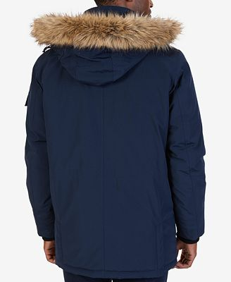 Nautica Men's Hooded Utility Parka - Coats & Jackets - Men - Macy's