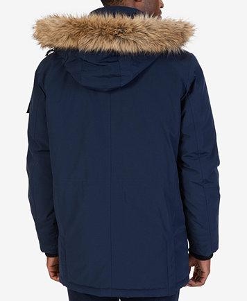Nautica Men's Hooded Utility Parka - Coats & Jackets - Men - Macy's