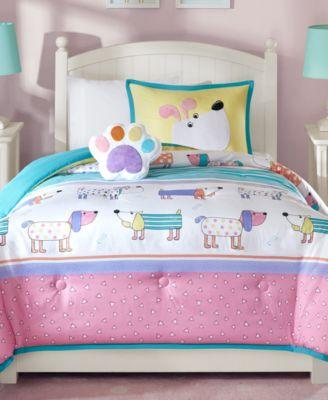 Milo 3-Pc. Reversible Twin Comforter Set